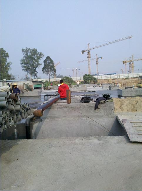 清远碧桂园2000CMD生活污水项目